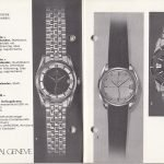 Three watches in black and white